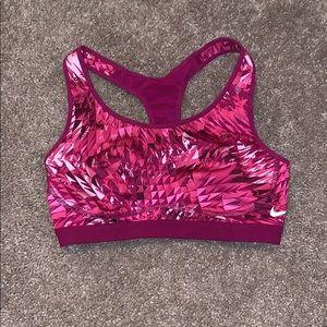 Nike Sportsbra Small Magenta Bra